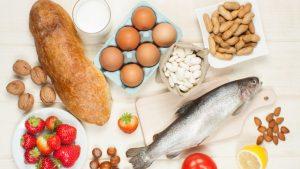 Alergias Alimentarias- foto de alimentos