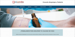 Imagen Pagina web de Alpedia